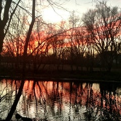 Photo taken at Mystic River Reservation by Charlene on 1/20/2013