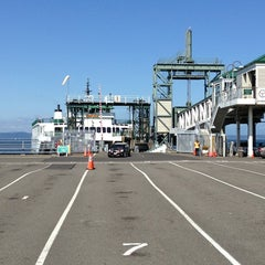 Photo taken at Seattle Ferry Terminal by Steve D. on 7/6/2013