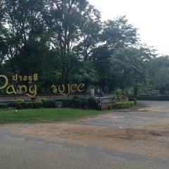 Photo taken at Pang Rujee Resort (ปางรุจี รีสอร์ท) by Rinyarat T. on 10/3/2013