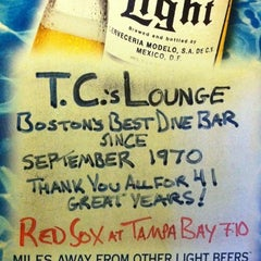 Photo taken at TC's Lounge by michael m. on 9/10/2011