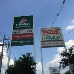 Photo taken at Oxxo Gas by Federico C. on 8/16/2015