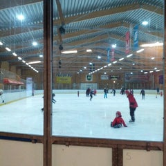 Photo taken at Kallhälls Ishall by Björn B. on 12/29/2012
