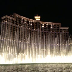 Photo taken at Fountains of Bellagio by Luis M. on 7/9/2013