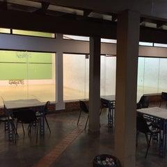 Photo taken at Academia Campograndense de Raquetes by Andre A. on 8/21/2015