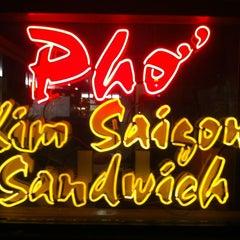 Photo taken at Kim Saigon Sandwiches by Elodie B. on 12/24/2012
