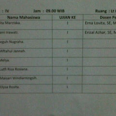 Photo taken at Stie Indonesia (kampus A) by elysa r. on 1/31/2013