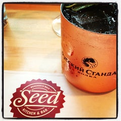 Photo taken at Seed Kitchen & Bar by Lindy F. on 4/16/2013
