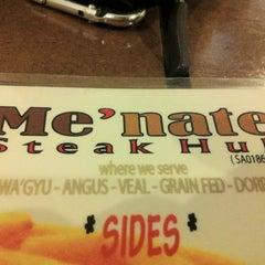 Photo taken at Me'nate Steak House by RazIzzuddin on 10/30/2012