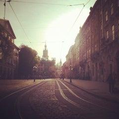 Photo taken at Площа Ринок / Rynok Square by Ann G. on 5/7/2013