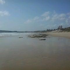 Photo taken at Praia de Pium by Rodrigo R. on 2/9/2013