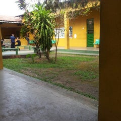 Photo taken at Escola Estadual Sant'Ana by Leandro M. on 2/28/2013