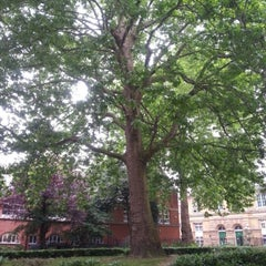 Photo taken at St Marylebone Parish Church Gardens by Murat G. on 6/20/2013