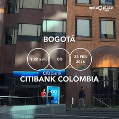 Photo taken at Citibank Colombia by Oscar Augusto A. on 2/23/2016