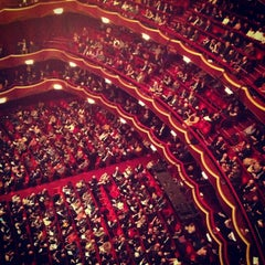 Photo taken at The Metropolitan Opera by Jennifer S. on 3/12/2013