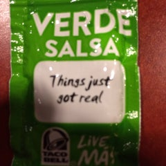 Photo taken at Taco Bell by Timothy Stanley on 1/3/2014