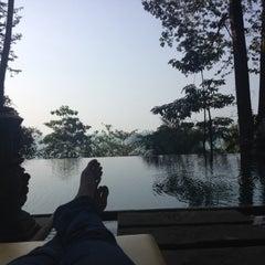 Photo taken at Baan Krating Khao Lak Resort Phang Nga by jojo p. on 3/6/2014