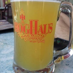 Photo taken at Hog Haus Brewing Company by Natalia G. on 5/13/2013
