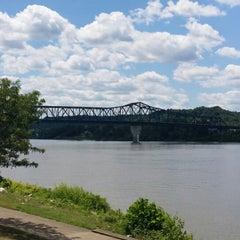 Photo taken at Harris Riverfront Park by Michael M. on 7/4/2014