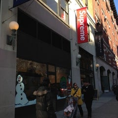 Photo taken at Supreme NY by Mido O. on 12/15/2012
