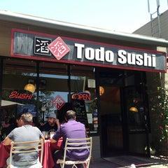 Photo taken at Todo Sushi by Jordan C. on 6/14/2013