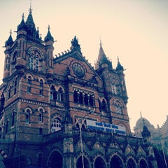 Photo taken at Chhatrapati Shivaji Terminus by Viral O. on 1/20/2013