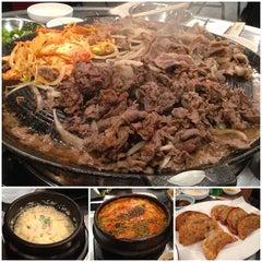 Photo taken at Honey Pig Gooldaegee Korean Grill by Annie N. on 6/11/2013