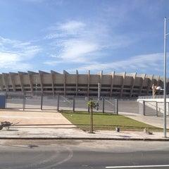 Photo taken at Estádio Jornalista Felipe Drummond (Mineirinho) by Carlos N. on 12/18/2012