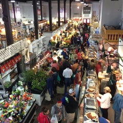 Photo taken at Lancaster Central Market by Veena S. on 5/25/2013
