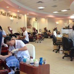 Photo taken at Nails First & Spa by Jennifer D. on 8/25/2013