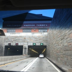 Photo taken at Baltimore Harbor Tunnel by Ariel G. on 3/16/2013