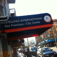 Photo taken at Hostelling International - San Francisco City Center Hostel by Clarah G. on 9/16/2012
