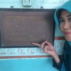 Photo taken at Keraton Amantubillah Mempawah by Amalia A. on 7/31/2014