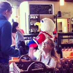 Photo taken at AU – Davenport Coffee Lounge by Bridget B. on 3/27/2013