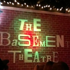 Photo taken at The Basement Theatre by Julia T. on 1/16/2013