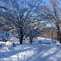 Photo taken at Morningside Park by Marc S. on 2/9/2013