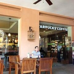 Photo taken at Starbucks Coffee by Niko Fernand M. on 3/1/2013
