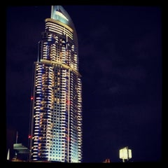 Photo taken at The Address Downtown - فندق العنوان by Ahmed B. on 2/13/2013