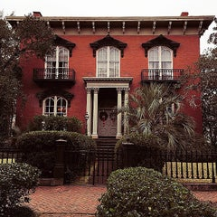 Photo taken at Mercer Williams House by Peter D. on 1/3/2015