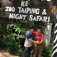 Photo taken at Zoo Taiping & Night Safari by Lim A. on 1/20/2013