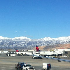 Photo taken at Salt Lake City International Airport (SLC) by Alexander E. on 3/4/2013