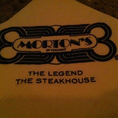 Photo taken at Morton's The Steakhouse by Marie T. on 12/22/2012