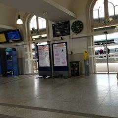 Photo taken at Gare SNCF de La Roche-sur-Yon by Thomas B. on 12/24/2012
