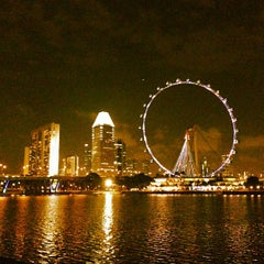 Photo taken at The Singapore Flyer by Happening S. on 1/26/2013