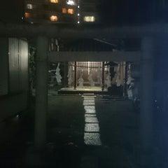 Photo taken at 本阿弥稲荷神社 by ぞひ on 9/27/2014