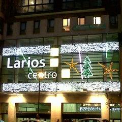 Photo taken at C.C. Larios Centro by José Francisco C. on 12/18/2012