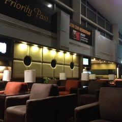 Photo taken at Plaza Premium Lounge by Rupam P. on 5/1/2013