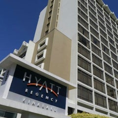 Photo taken at Hyatt Regency Kinabalu by @Hanyy on 12/19/2012