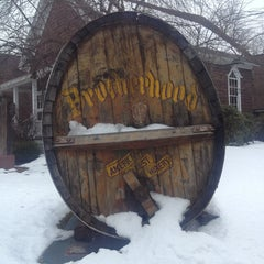 Photo taken at Brotherhood, America's Oldest Winery by Emily W. on 2/16/2013