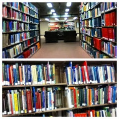 Photo taken at Bizzell Memorial Library by Courtney G. on 4/16/2012