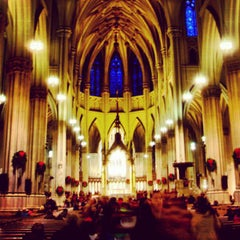 Photo taken at St. Patrick's Cathedral by PiRATEzTRY on 1/3/2013